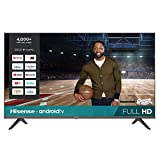Hisense 43-Inch 43H5500G Full HD Smart Android TV with Voice...