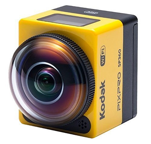 Kodak PIXPRO SP360 Action Cam with Explorer Accessory Pack (Renewed)