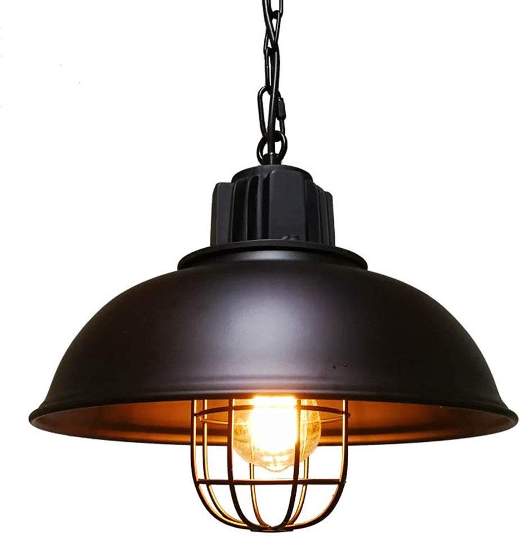 BDYJY Plafonnier Vintage en Fer Industriel, lustres E27 à Une tête, Lampe Max Edison