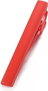 مشك ربطة العنق المعدني للمقاس العادي للرجال، هدية للزفاف والاعمال مقاس 5.4 سم بلون احمر من هوني بير