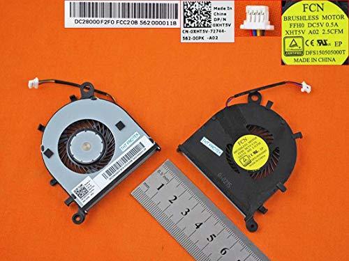 Kompatibel für Dell XPS 13 9343, 9350, 13-9343, 13-9350 Lüfter Kühler Fan Cooler