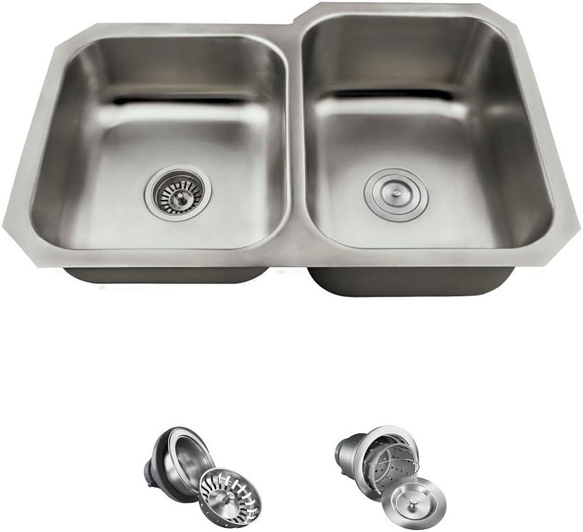 US1053R 18 Gauge Genuine Stainless Steel Ranking TOP3 Kitchen Ensemble - 3 It Bundle