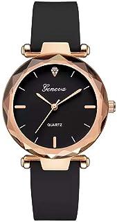 Geneva Dress Watch For Women Analog Silicone - 1089