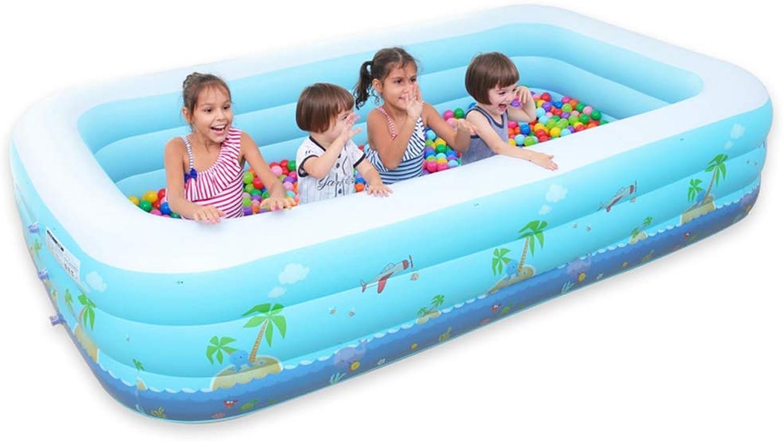 YYQUAN Aufblasbares Pool-Familien-super Groes Marineball-Pool Der Kinder, Das Groes Erwachsenes Hauptplanschbecken Verdickt Schwimmring