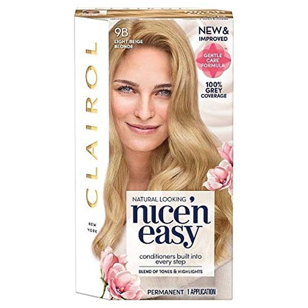 テラス負担衣装[Nice'n Easy] Nice'N簡単9Bはライトベージュブロンド - Nice'n Easy 9B Light Beige Blonde [並行輸入品]