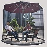 WBDZ Anti-Mosquiteros Paraguas su sombrilla en un Gazebo Mosquitera Cerramiento Sombrilla para Patio Adecuado para gazebos Cubierta de Red para Insectos