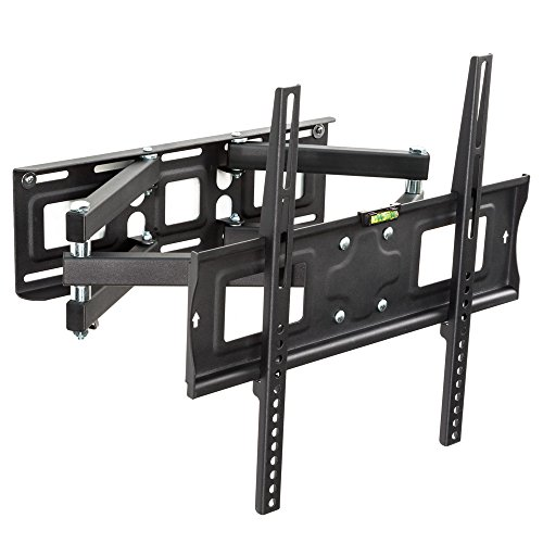 TecTake Soporte de Pared para TV de Pantalla Planta, inclina