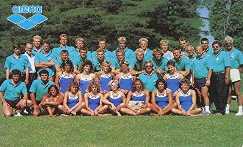 AK DSV WM-Team Schwimmen Madrid 1986
