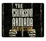 Crimson Armada Conviction Metal Music Mouse Pads Customized Made to Order Support Ready 9 7/8 Inch (250mm) X 7 7/8 Inch (200mm) X 1/16 Inch (2mm) Eco Friendly Cloth with Neoprene Rubber Liil Mouse Pad Desktop Mousepad Laptop Mousepads Comfortable Computer Mouse Mat Cute Gaming Mouse pad