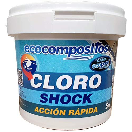 Bricolemar KABRA - Cloro Choque accion rapida granulado 5Kg Kabra (5)