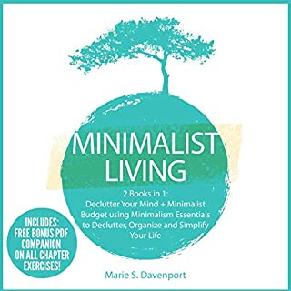 Minimalist Living: 2 Books in 1 cover art