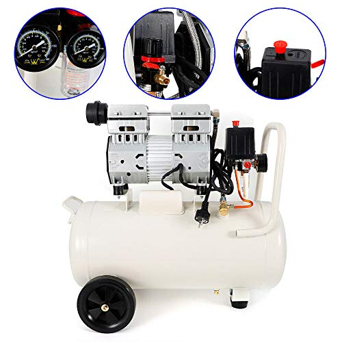 Flüster Kompressor 50 Liter Ölfrei...
