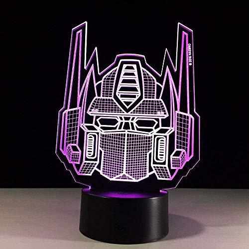 BTEVX Kinderprodukte Nachtlicht Sound Vespa 3D Tischlampe Nachtlicht Kind LED Acryl Lampe Fernbedienung Schlafzimmer Lampe USB Tischlampe Geburtstagsgeschenk Souvenir
