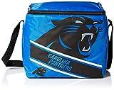 Carolina Panthers Big Logo Stripe 12 Pack Cooler