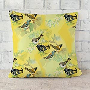 ArtzFolio Summer Flowers D2 Cushion Cover Throw Pillow Canvas