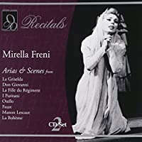 Mirella Freni Recitals by Mirella Freni (2002-06-04)