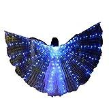 Lenfesh Erwachsene Isis Flügel LED Cosplay Performance Artikel Weihnachten Cosplay Kostüme LED...
