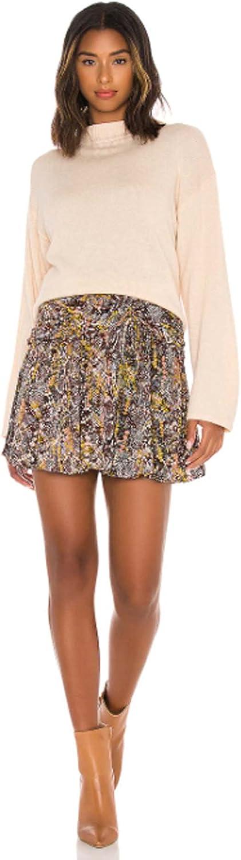 Free People Women's Saturday Sun Mini Skirt Day and Night Natural Combo 2