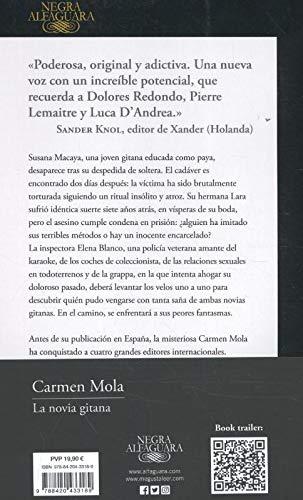 Reseña y Review del libro LA NOVIA GITANA (Inspectora Elena Blanco 1) de Carmen Mola
