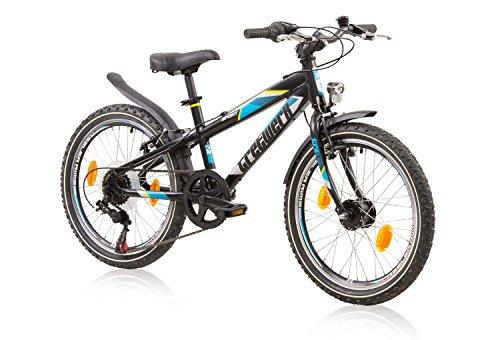 tretwerk DIREKT gute Räder Sport 20 Zoll Kinderrad, Jungen-Fahrrad, 6-Gang Kettenschaltung und Nabendynamo