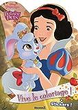 Disney Princesses - Palace Pets - Vive le coloriage ! (Blanche-Neige)