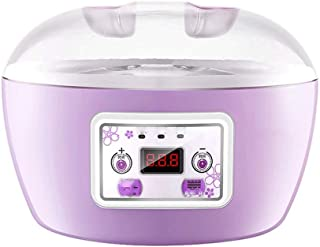 WGNHM Maker Machine with Yogurt Containers - Automatic Electric Easy Yogurt Maker Machine (Color : Pink)