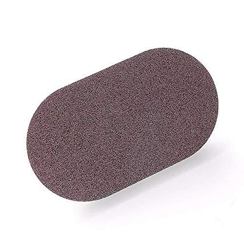 ARLT Magic Eraser Esponja Accesorios de Cocina Fuerte Cepillo de descontaminación con asa Cocina Accesorios de baño (Color : Brown)