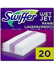 Swiffer Wetjet Bezem Spray Refill Reinigingsdoekjes voor alle vloeren, 1 verpakking (1 x 20 stuks)