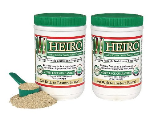 Heiro Healthy Equine Horse Insulin Resistant Rescue Organicals 60 Day Supply and Free Informational Booklet
