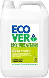 Ecover Washing-Up Liquid Lemon & Aloe Vera - 5 Liter
