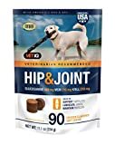 VetIQ Hip & Joint Supplement for Dogs, Chicken Flavored Soft Chews, 90 Count
