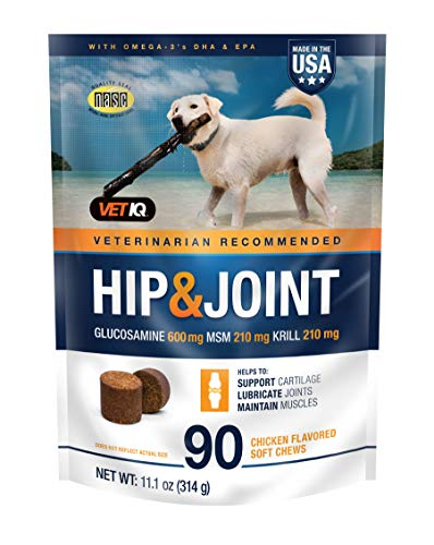Top 10 best selling list for best dog supplement for joint pain