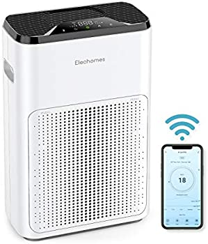 Elechomes Pro Series Air Purifier with True HEPA Filter