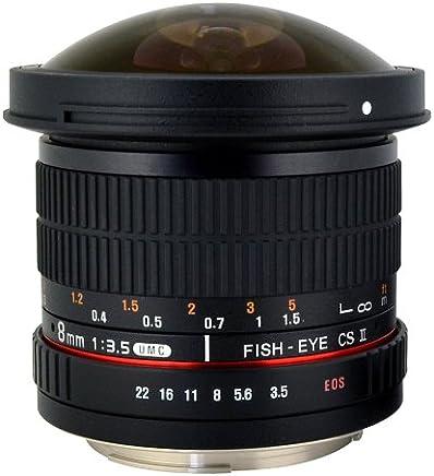 Rokinon HD8M-FX HD 8mm F3.5 Fisheye Lens for Fujifilm X-Mount Cameras