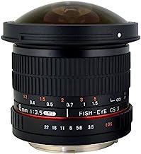 Rokinon HD8M-N 8mm f/3.5 HD Fisheye Lens with Auto...