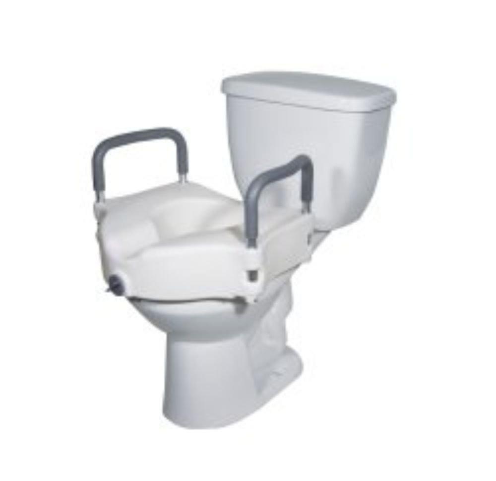 Drive DeVilbiss [Alternative dealer] Healthcare RTL12027RA Max 58% OFF Elevated Toilet Sea Raised
