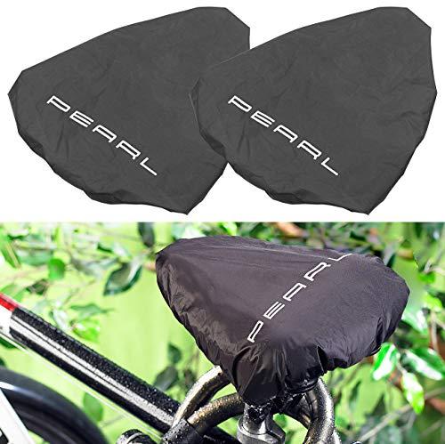 Pearl Protección del sillín: Funda Protectora Universal Repelente al Agua para sillines de Bicicleta, Juego de 2 (Funda de sillín)