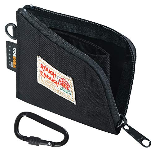 Rough Enough Small Slim Wallet Coin Purse Pouch Holder Case for Teen...