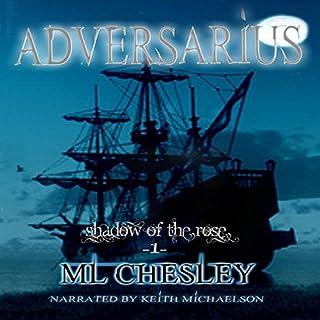 Adversarius audiobook cover art