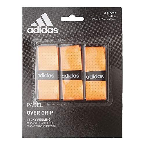 adidas Padel OV – Set Surgrip, Taille Unique, Orange, Taille Unique