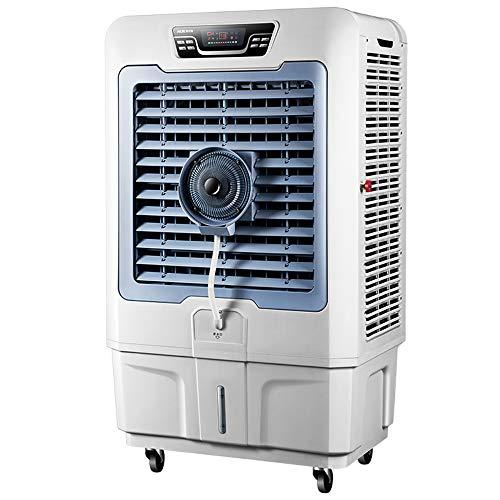 Axdwfd Industriële belventilator, industriële koelventilator, water- en bevochtigingsairconditioning, verstuiver, watergekoelde airconditioningventilator, enkele koelsprayventilator