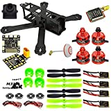 LHI 220mm Full Carbon Frame + DX2205 2300KV Motor sin escobillas + Littlebee 20A Regulador + Pro SP Racing F3 Controlador de Vuelo Acro + 5045 Propeller FPV Quadcopter ARF Kit