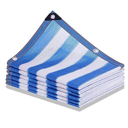 Toldo Tela De Sombra Cifrado Engrosamiento Aislamiento Neto Protector Solar Red Resistente A Los Rayos UV para Invernadero De Plantas De Flores De Jardín Sombra De Malla Solar