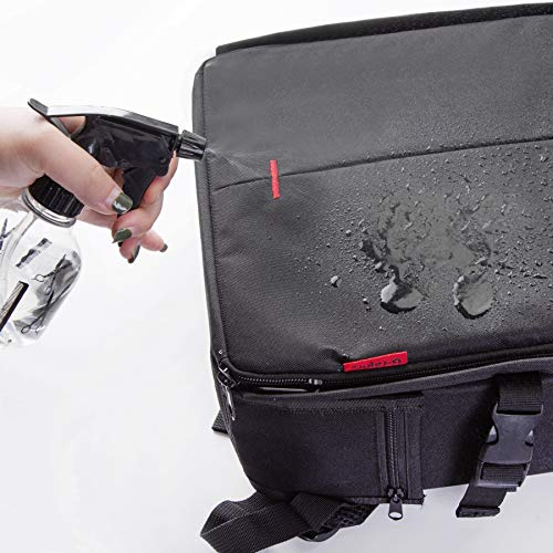 G-raphy Camera Bag Camera Backpack with Rain Cover / Tripod Belt for DSLR SLR Cameras( Nikon,Canon,Sony,Fuji,Panasonic etc), Lenses, Tripod and Accessories (Green, Large)