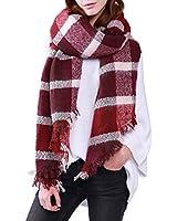 DiaryLook Winter Long Tartan Checked Scarfs Ladies Scarves Shawl Wraps for Women