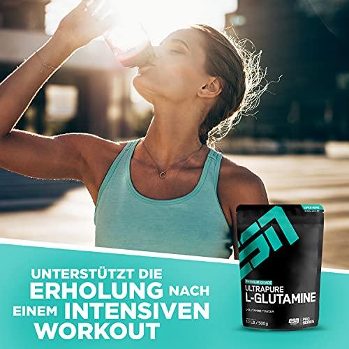ESN Ultrapure L-Glutamine Powder, Pro Series, 1er Pack (1 x 500g Beutel) - 6