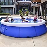 Creny Family Inflatable Swimming Pool, 95''(Diameter) x 25''(Height) Quick Set Inflatable Pools Above Ground Pool for Kids and Adult, Outdoor, Garden, Backyard, Summer Water Party