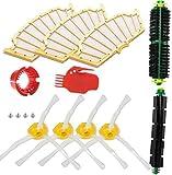 Juego de 10 filtros de repuesto fiables para iRobot Roomba 500 600 Series 528 536 551 552 564 595 620 630 650 655 660 665 680 690 accesorio de aspiradora (color del paquete a)