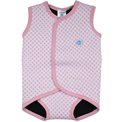 Splash About, Mini Wetsuit, Ärmelloser Neopren Baby Schwimmanzug, pink Graham, Größe 18-30 Monate,
