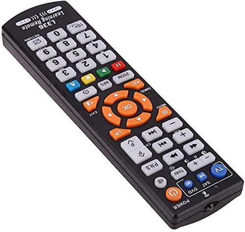 L336 純粋な学習リモートコントロールリモートコントロールTV STBの場合、DVD、DVB、ハイファイ リモコン シンプル TVリモコン (赤)